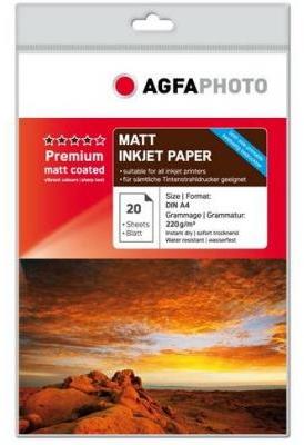 Agfa Fotopapier Premium Matt A4 220 grams