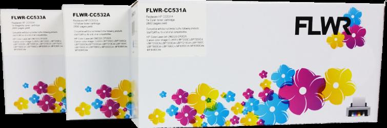 FLWR HP 304A 3-pack kleur
