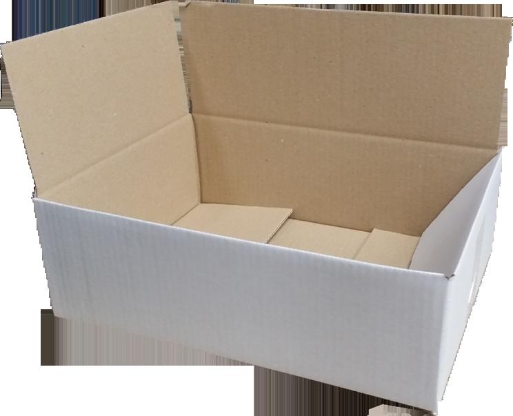Huismerk White label Postdozen Wit 400x270x150mm wit