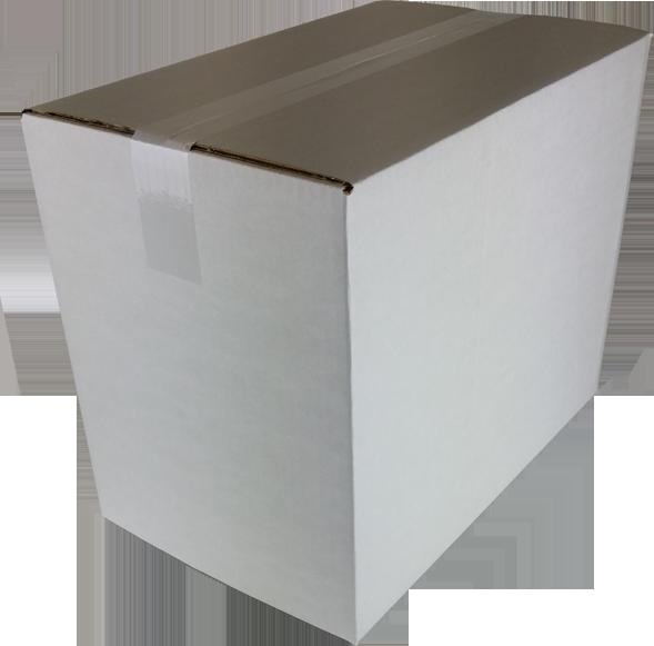 Huismerk White label Postdozen Wit 435x270x335mm wit