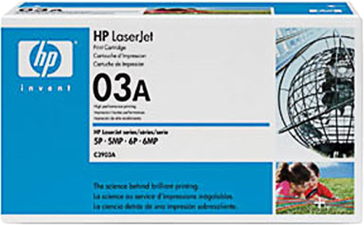HP 03A zwart