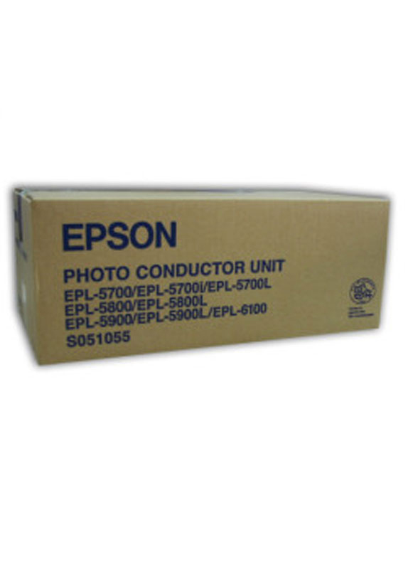 Epson S051055 Photoconductor unit zwart