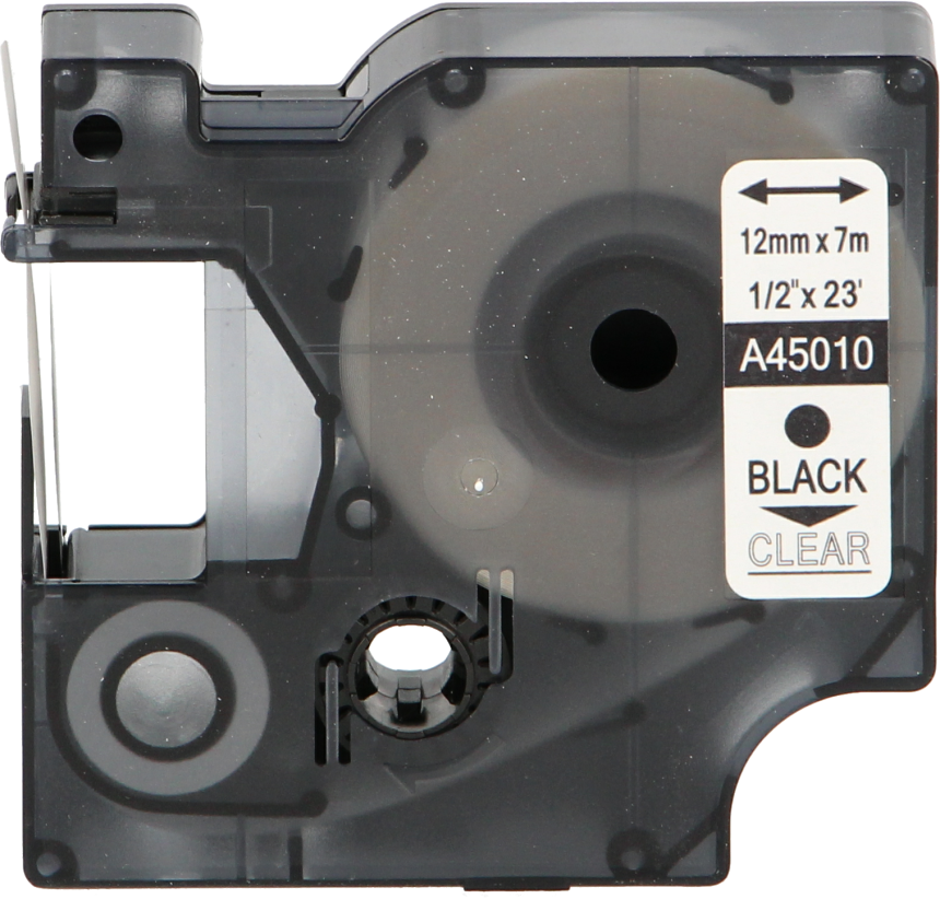 FLWR Dymo 45010 zwart