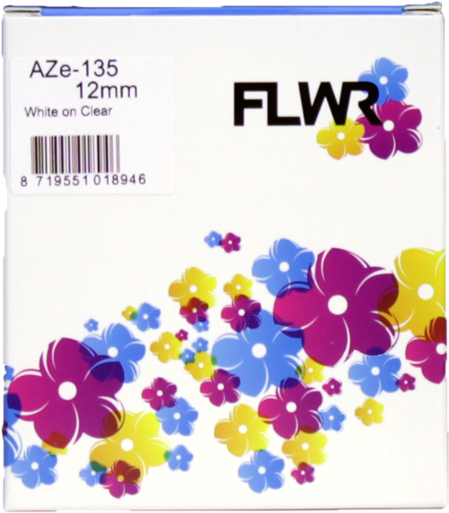 FLWR Brother TZE-135 wit