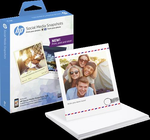 HP Snapshot Fotopapier 10x13 wit