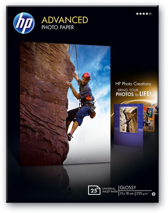 HP fotopapier 13x18 wit