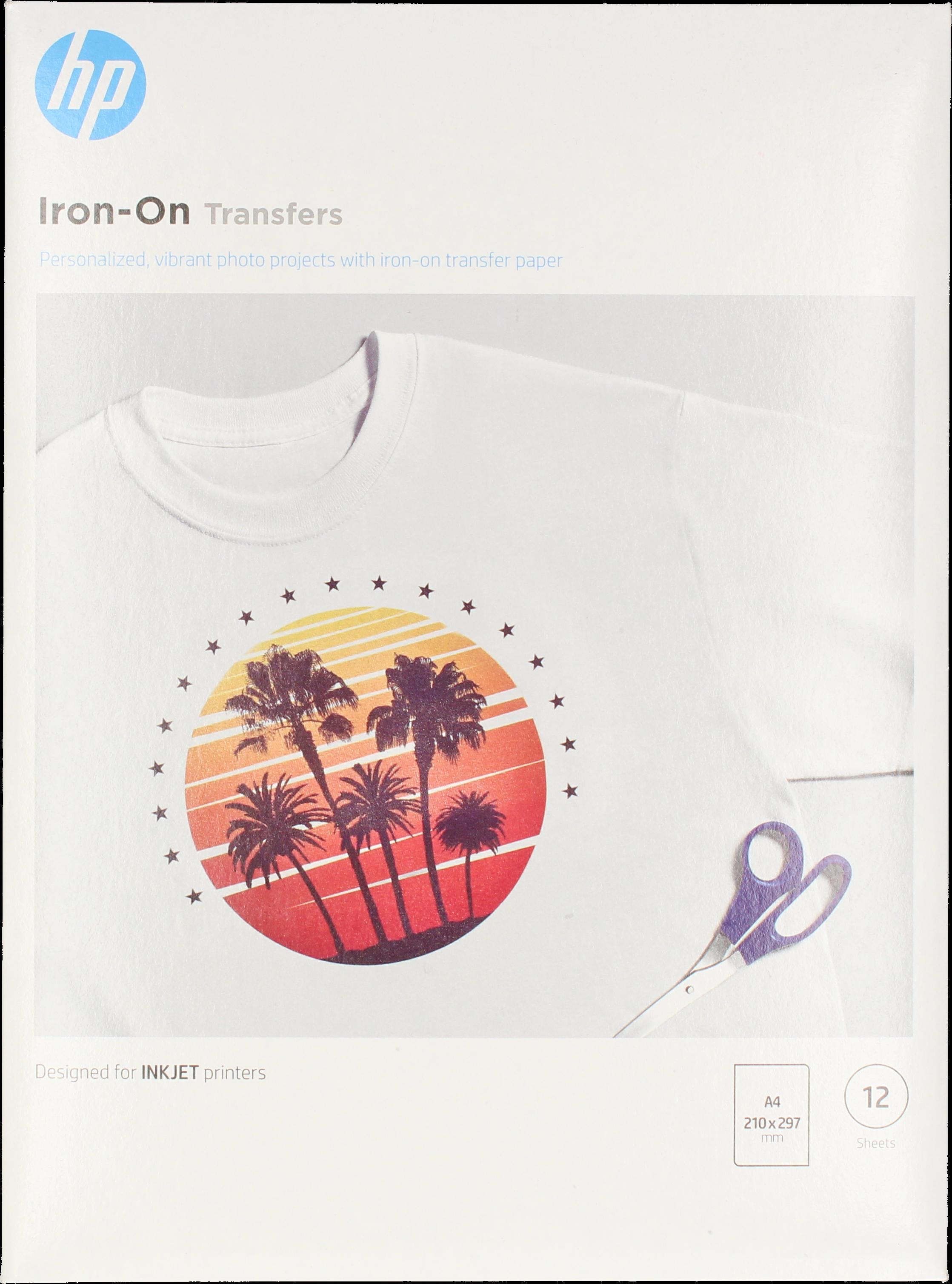 HP  T-shirt folie  | A4 | 170 gr/m² 10 stuks