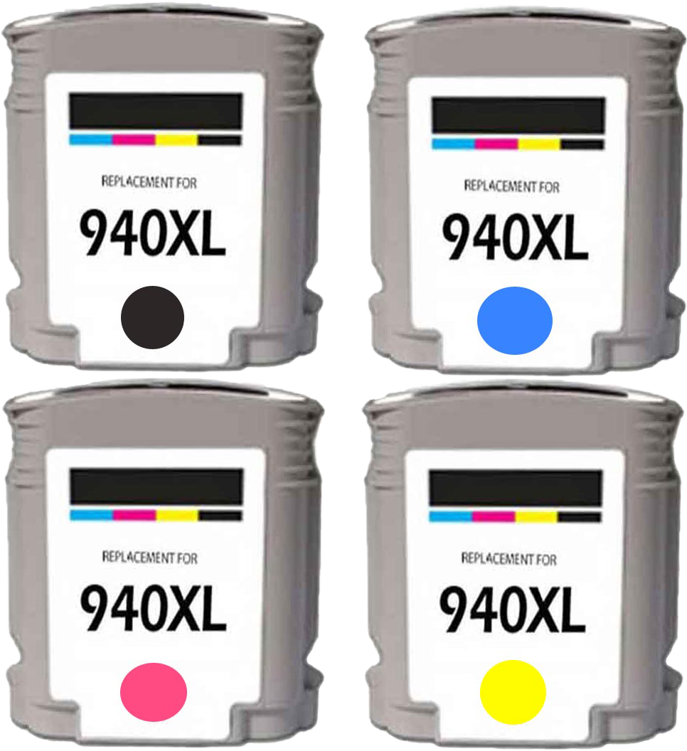 HP 940XL Multi-Pack zwart en kleur