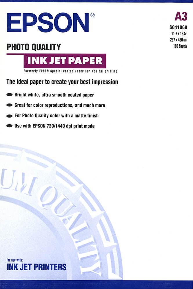 Epson Fotopapier A3 mat wit