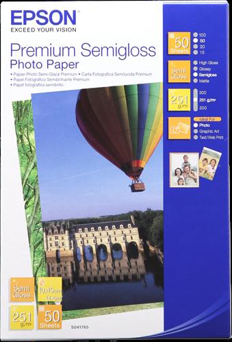 Epson Fotopapier 10x15 wit