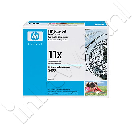 HP 11X zwart