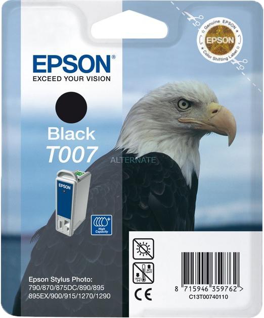 Epson T007 zwart