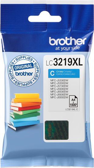 Brother LC-3219XLC cyaan