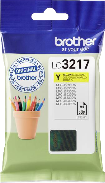 Brother LC-3217Y geel