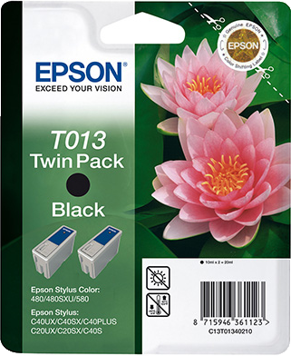 Epson T013 Double Pack zwart