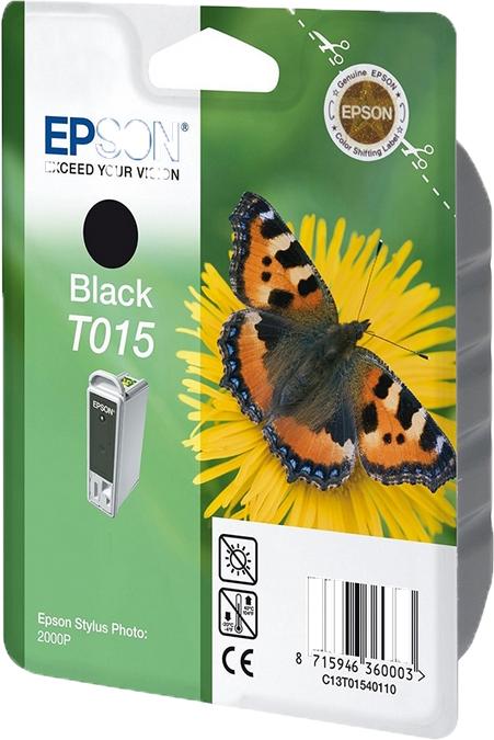 Epson T015 zwart
