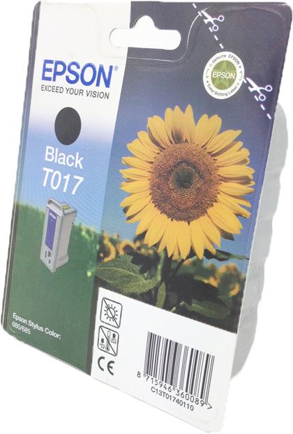 Epson T017 zwart