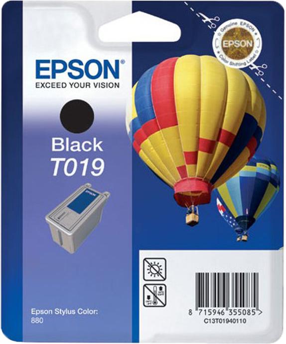 Epson T019 zwart