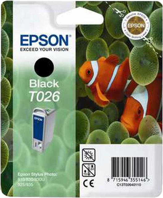 Epson T026 zwart