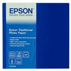 Epson Traditional Photo Paper A4 wit