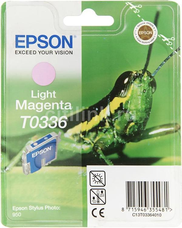 Epson T0336 licht magenta