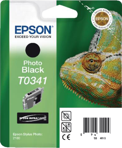 Epson T0341 foto zwart