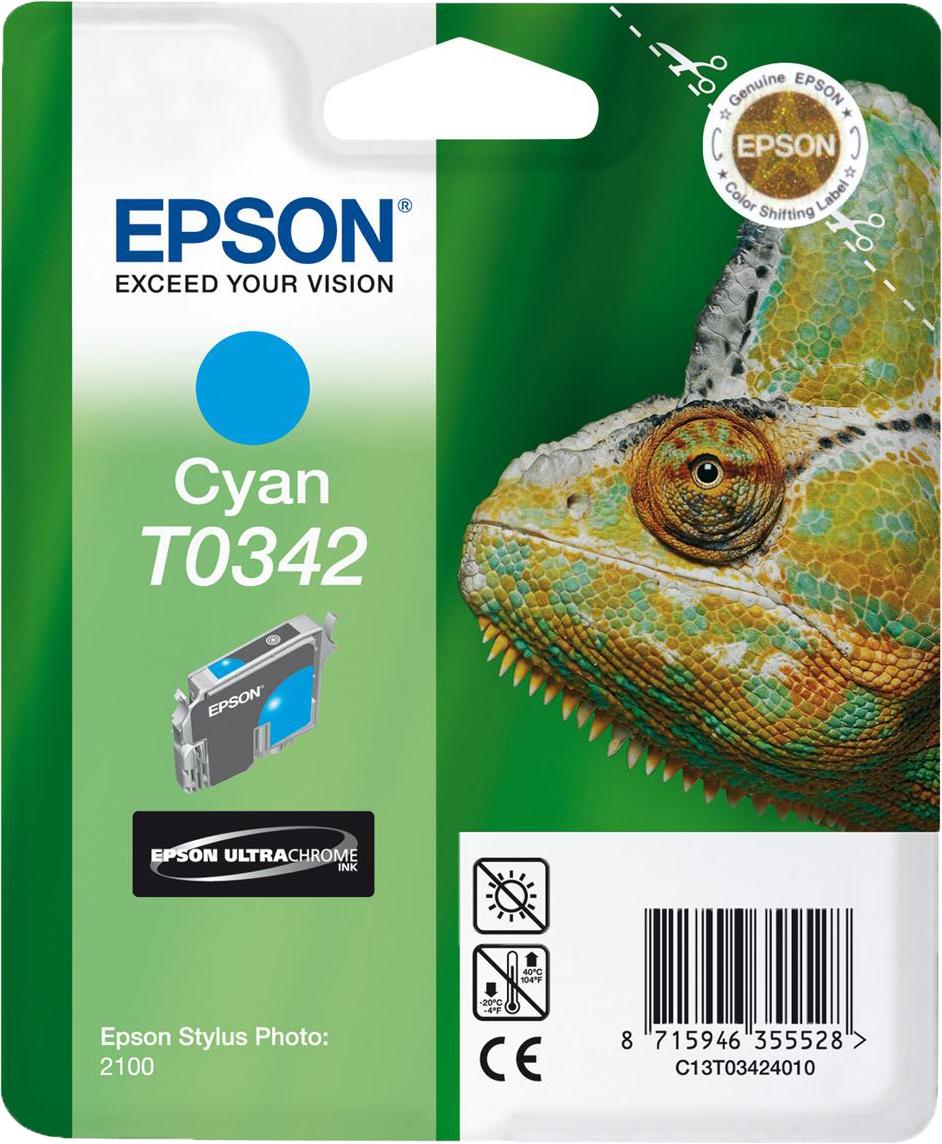 Epson T0342 cyaan