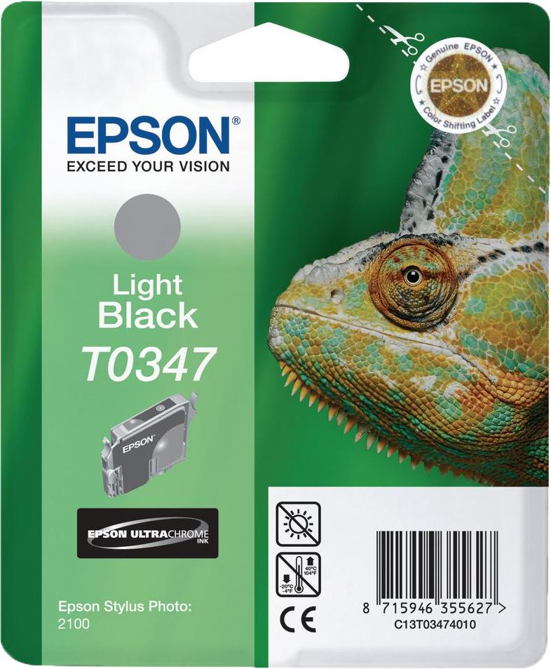 Epson T0347 licht zwart