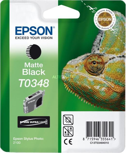 Epson T0348 mat zwart