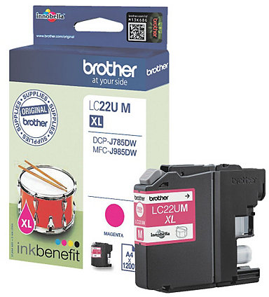 Brother LC-22U XL magenta