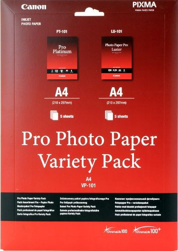 Canon VP-101 A4 Multipack wit