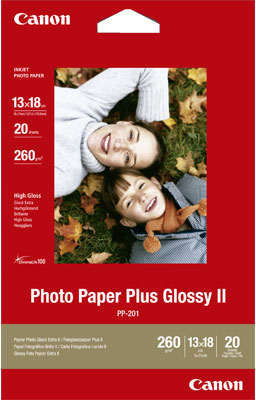 Canon PP-201 Plus Photo Paper 13 x 18 cm wit