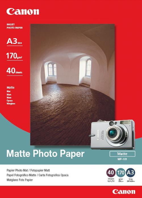 Canon MP-101 Mat Foto Papier A3 wit