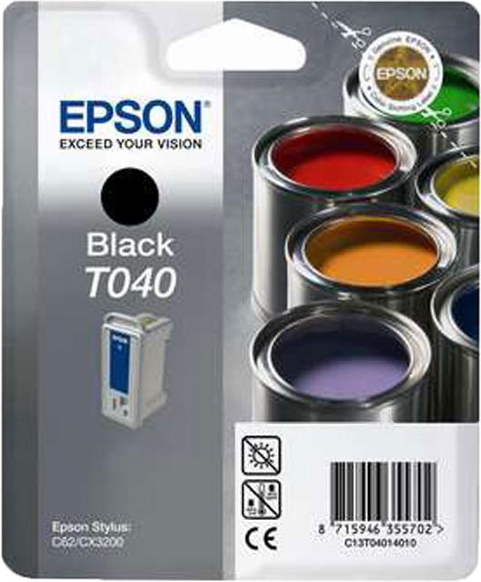 Epson T040 zwart