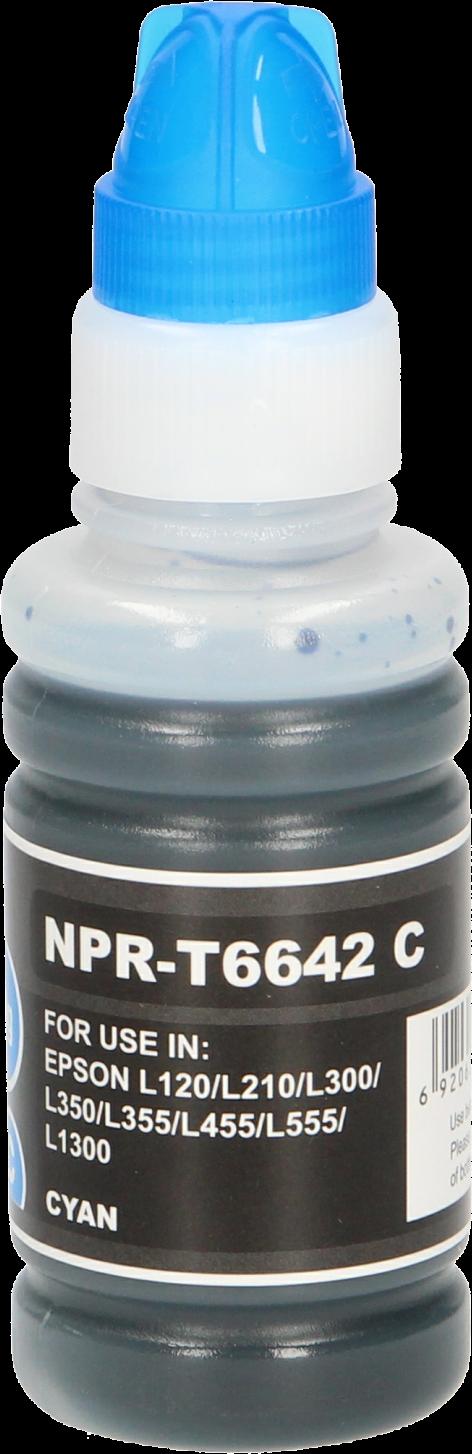 FLWR Epson T6642 cyaan