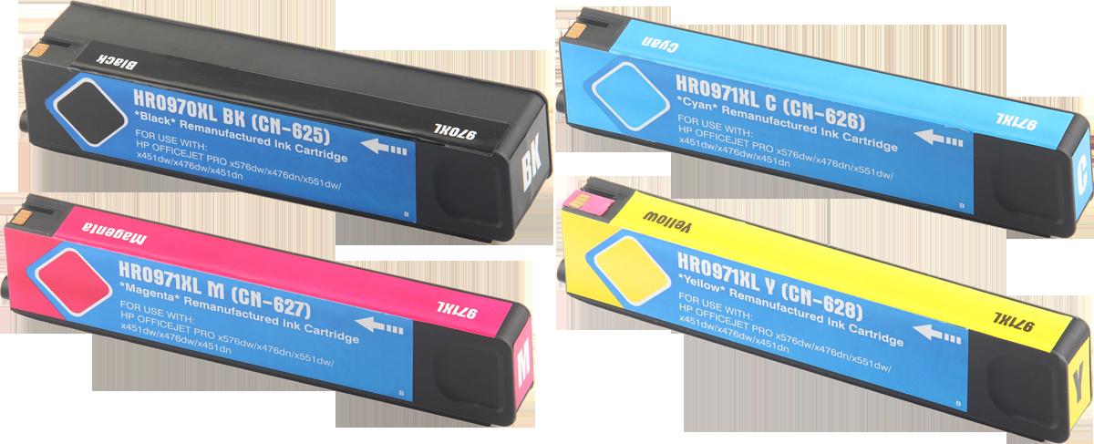 HP 970 / 971XL Multipack zwart en kleur
