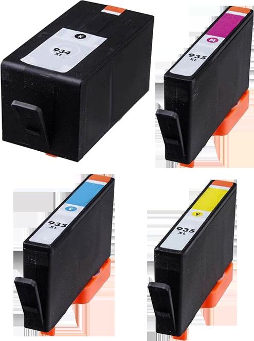 HP 934XL / 935XL Multipack zwart en kleur
