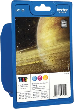 Brother LC-1100 Multipack kleur
