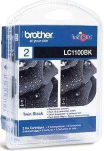 Brother LC-1100BK 2-pack zwart
