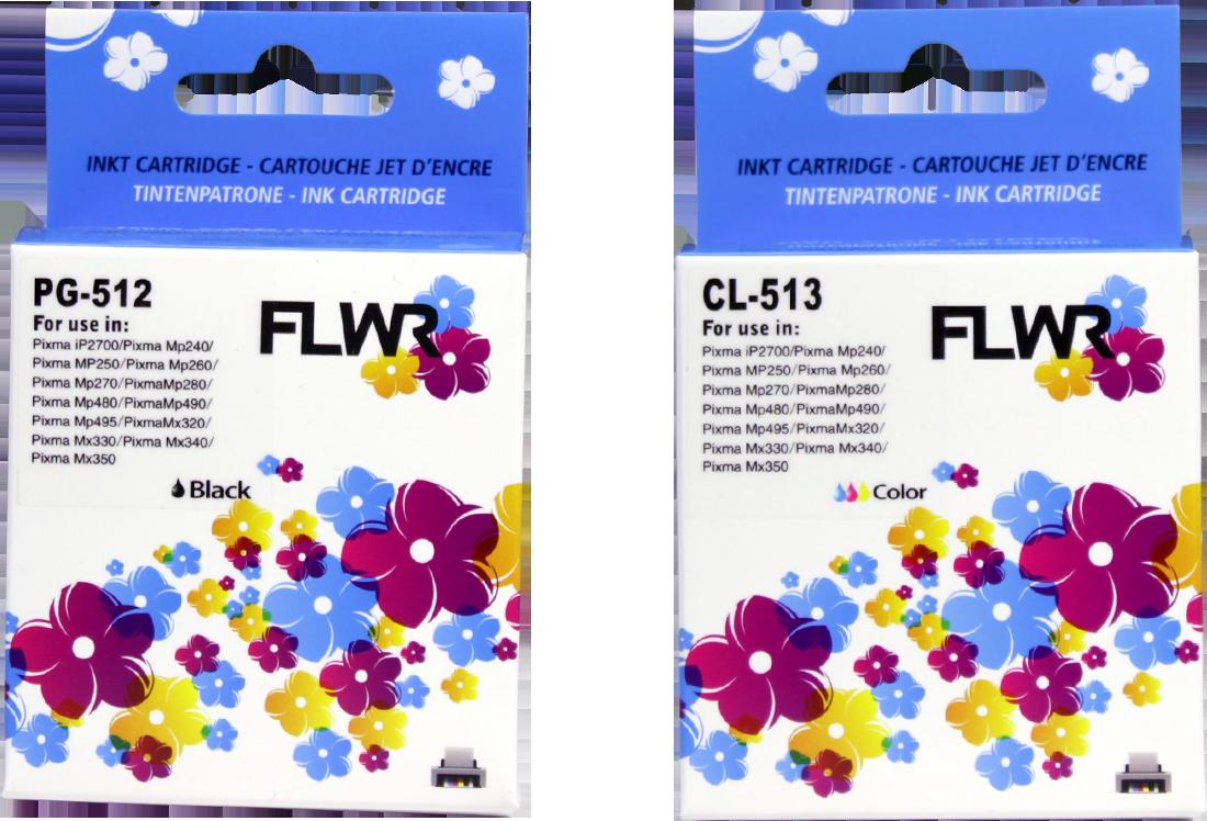 Canon PG-512 / CL-513 Multipack zwart en kleur