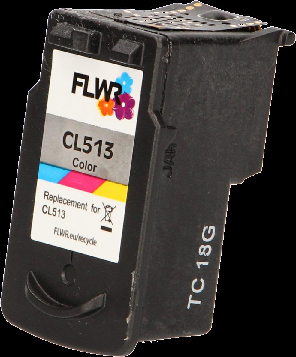FLWR Canon PG-512 / CL-513 Multipack zwart en kleur