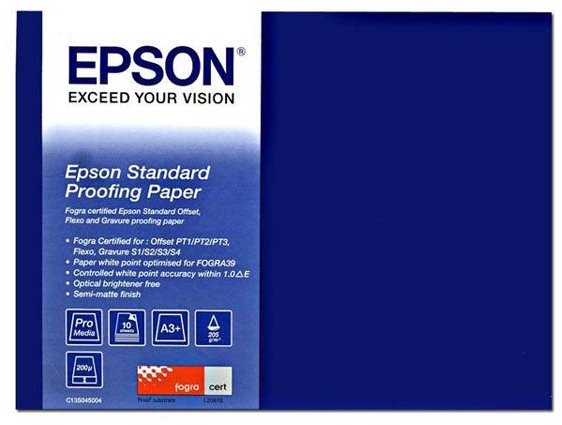 Epson Standard Proofing Paper A3+ wit