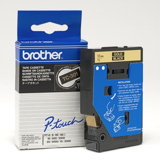 Brother TC-301 zwart