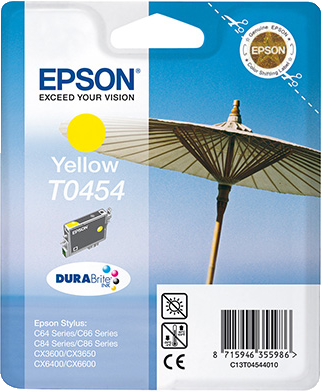 Epson T0454 geel