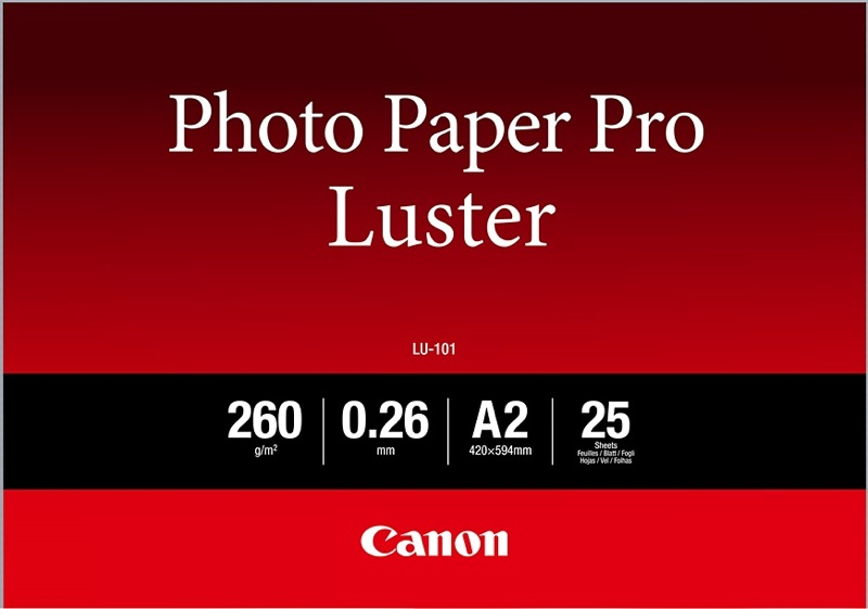 Canon LU-101 Pro Luster A2 wit