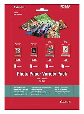 Canon VP-101 A4 en 10x15 Multipack wit