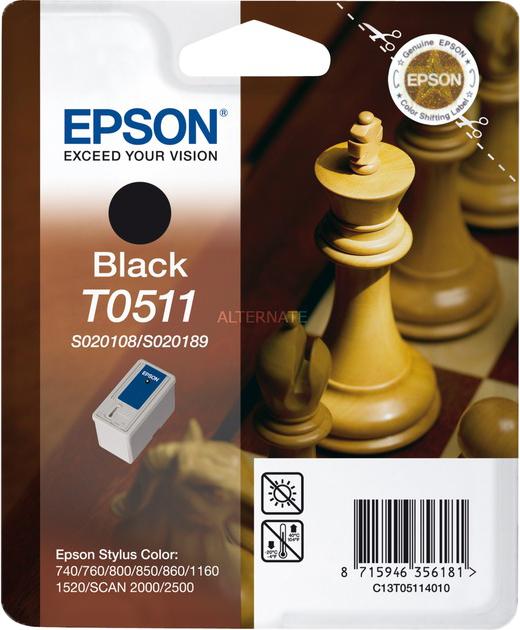 Epson T0511 zwart