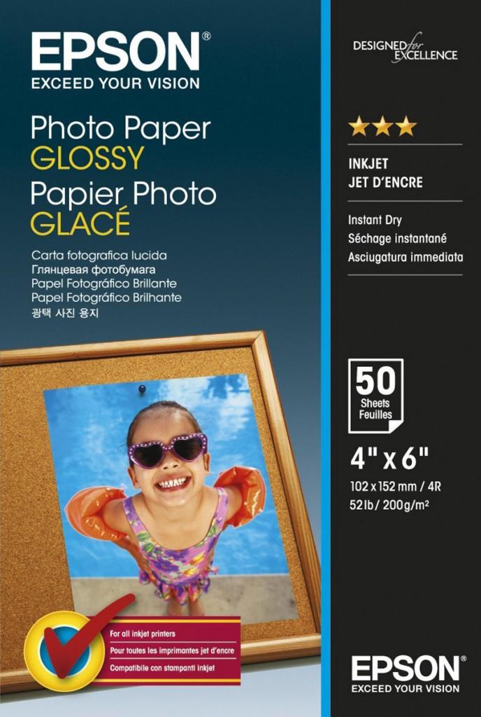 Epson fotopapier 10x15 cm XL pack wit