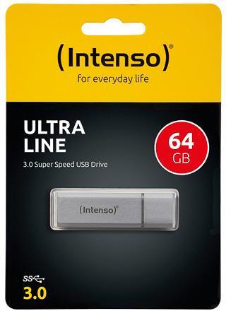 Intenso Ultra Line USB Drive 64 GB zilver