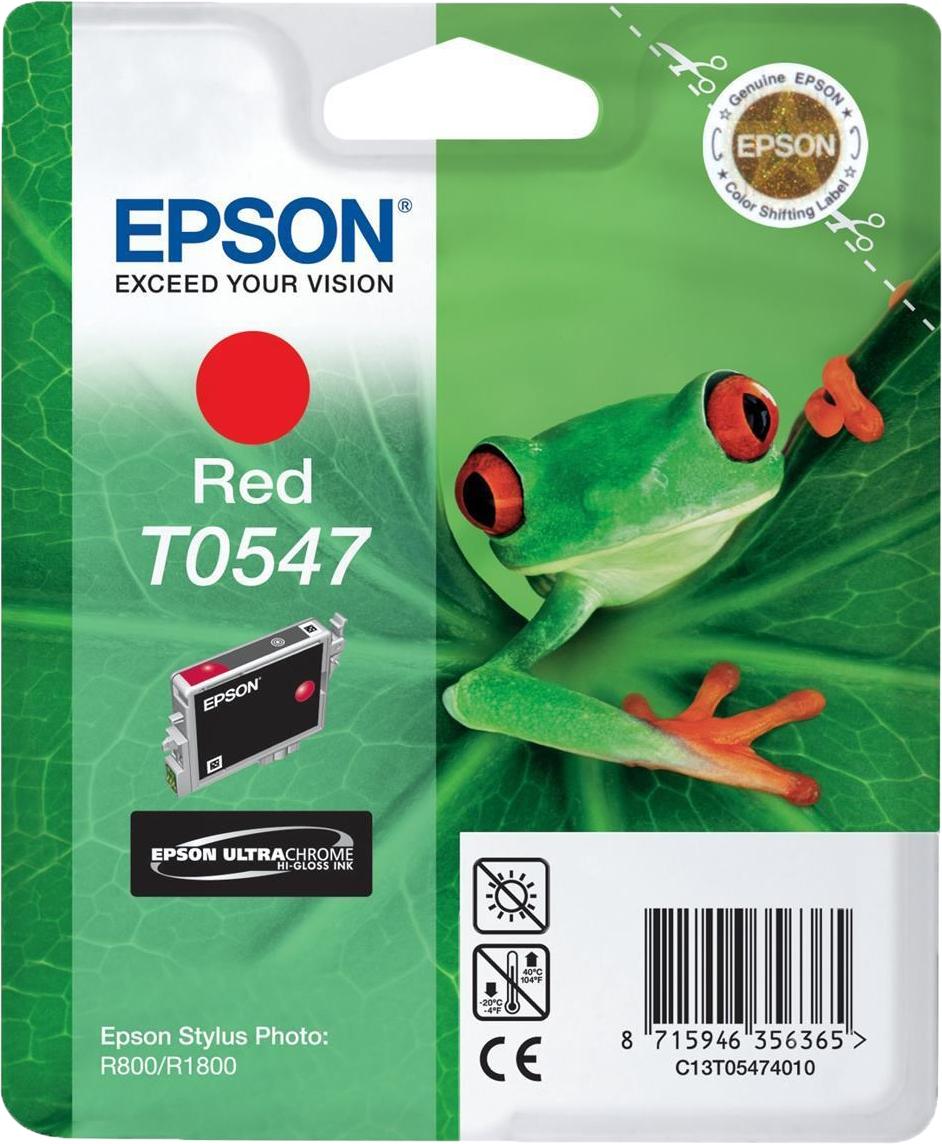 Epson T0547 rood
